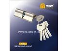 Цилиндровый механизм МСМ 90N сатин кл/кл (12/72)