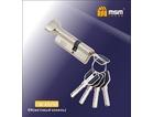 Цилиндровый механизм МСМ 100СW(65/35) сатин