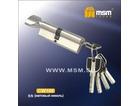 Цилиндровый механизм МСМ 110СW сатин