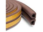 Уплотнитель профиль D (9*7,5)- 100-коричневый KimTek