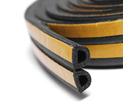 Уплотнитель профиль D (9*8)- 100-черный Remontix