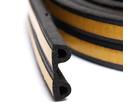 Уплотнитель профиль Р (9*5,5)- 100-черный KimTek