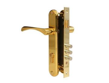 Замок врезной с ручками Аpecs 2223/60-G золото (10)