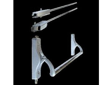Ручка-штанга нажимная 320-P-L левая тяги,д/пассивной створки двери