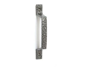 Ручка-скоба РСА-  80 серебро антик