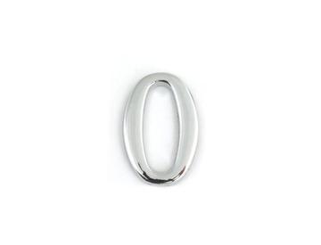 Цифра дверная Apecs DN-01-0-Z-CR самоклей