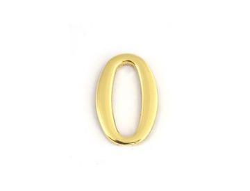 Цифра дверная Apecs DN-01-0-Z-G самоклей