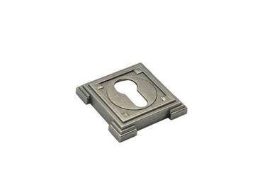Накладка цилиндровая серебро Adden Bau SC Vq001(10)