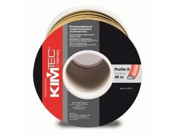 Уплотнитель профиль D (14*12)- 40-черный KimTek промышленный
