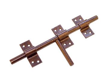 Засов дверной универсальный ЗУ-250 Домарт медь