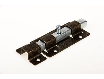 Засов дверной ЗД-06  квадратный бронза Металлист