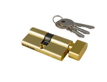 Цилиндровый механизм СА-AL-60 золото NW к/вертушка