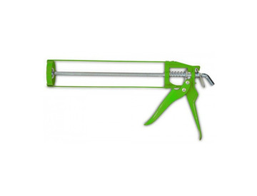 Пистолет для герметиков скелетный (зеленый)