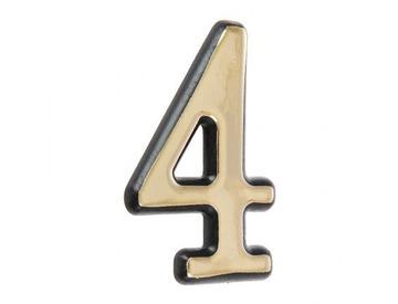 Цифра дверная 4-G