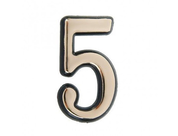 Цифра дверная 5-G