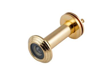 Глазок дверной CA 50-75 противопожарный золото (20)