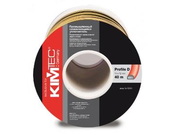 Уплотнитель профиль D (14*12)- 40-белый  KimTek промышленный
