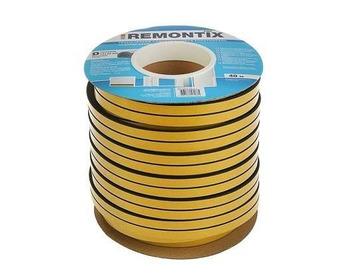 Уплотнитель профиль D (14*12)- 40-черный  Remontix промышленный