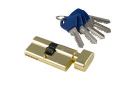 Цилиндры S-Locked Серия 300 английский ключ (материал Zamak)